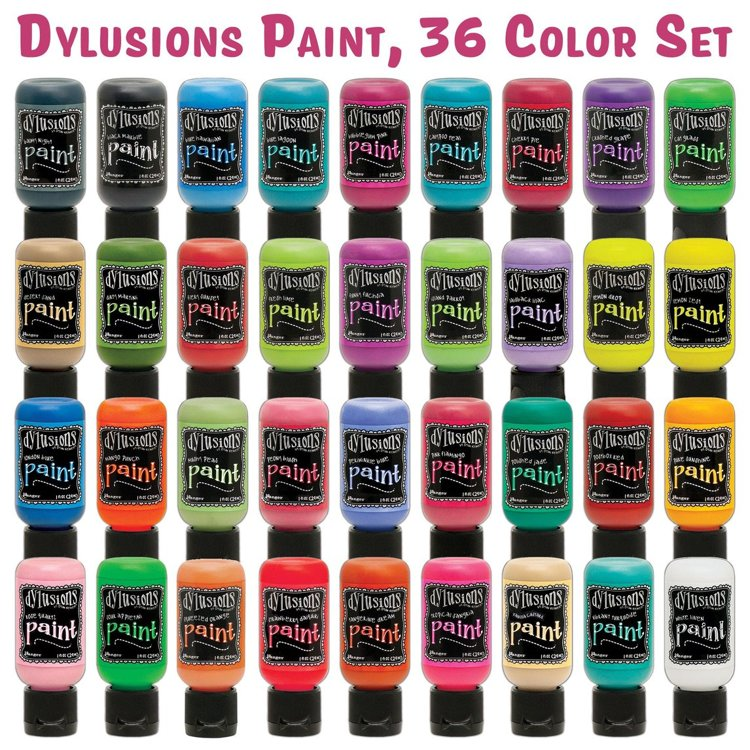 Ranger - Dylusions Paints Bottle 29,6ml - COMPLETE SET