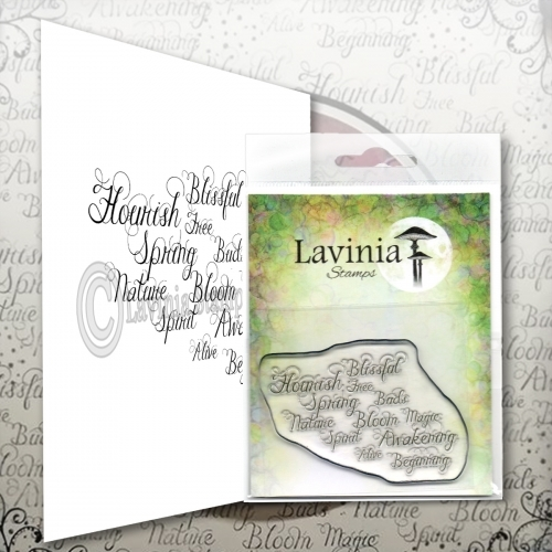 Lavinia Stamps - Words of Spring