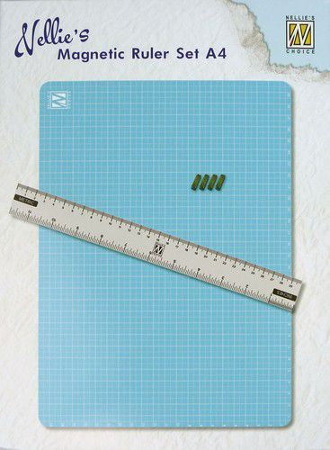 Nellies Choice - Magnetic Ruler set A4 - MAGM001