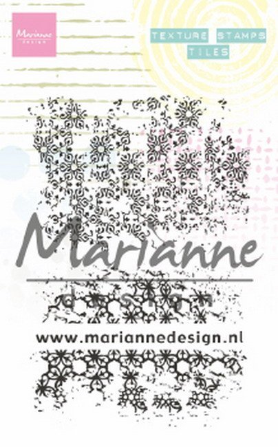 Marianne Design - Clearstamp - Texture Stamps - Tiles