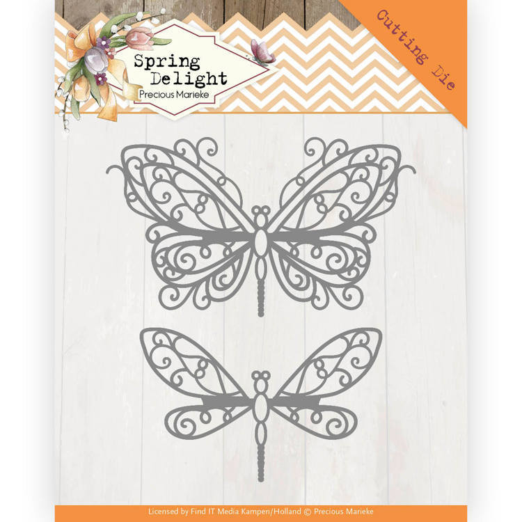 Stansmal - Precious Marieke - Spring Delight - Spring Butterfly