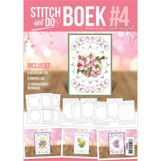 Stitch and Do Book 4 - Flowers