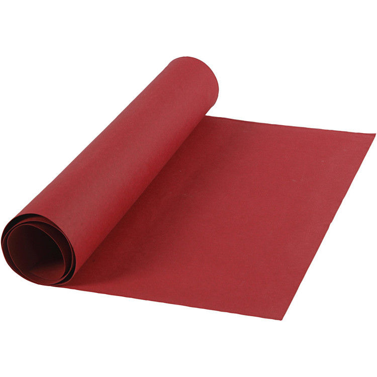 Faux Leather Papier - 50 cm x 1 m - rood