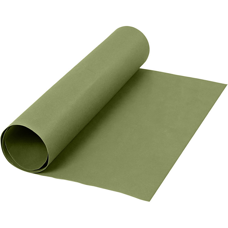 Faux Leather Papier - 50 cm x 1 m - groen