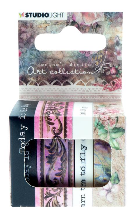 PRE-ORDER 1 - Studio Light - Jenine's Mindful Art Collection 3.0 - Washi Tape 01