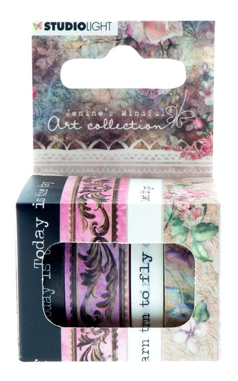 Studio Light - Jenine's Mindful Art Collection 3.0 - Washi Tape 01