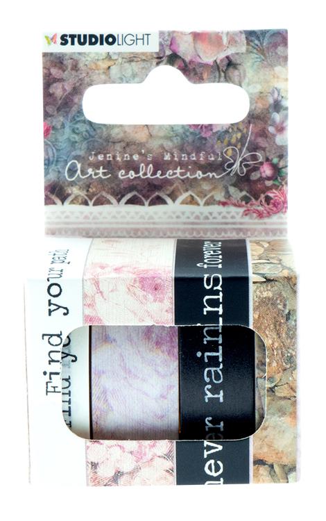 PRE-ORDER 1 - Studio Light - Jenine's Mindful Art Collection 3.0 - Washi Tape 02
