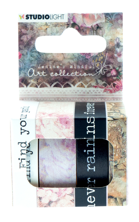Studio Light - Jenine's Mindful Art Collection 3.0 - Washi Tape 02
