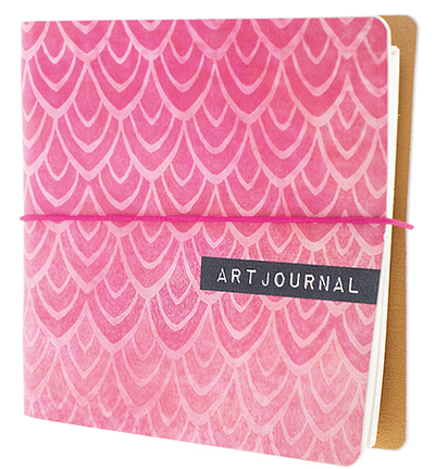Studio Light - Essentials - Ringband Art Journal 03 (16 x 16 cm)