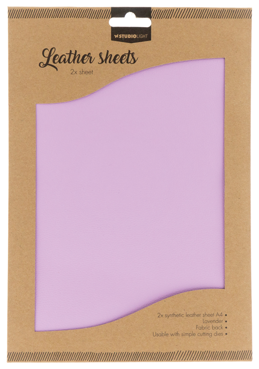 Studio Light - Fake Leather Sheets - 06 Lavender