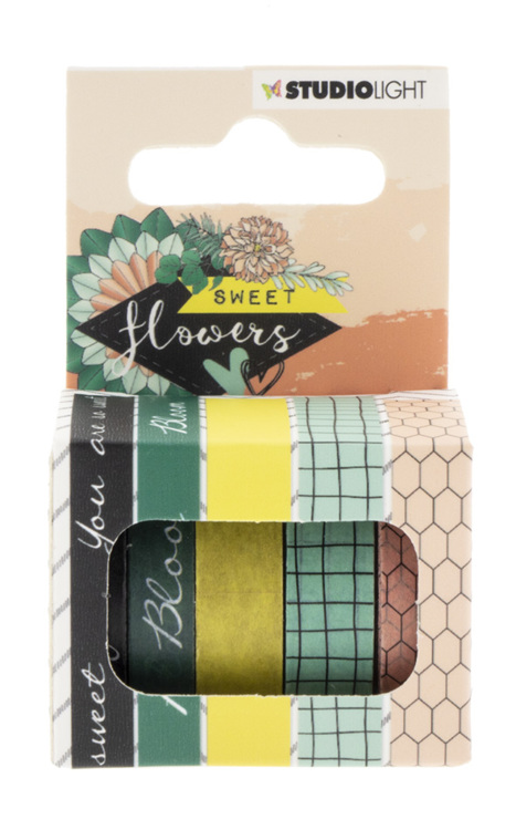 Studio Light - Sweet Flowers - Washi Tape 07