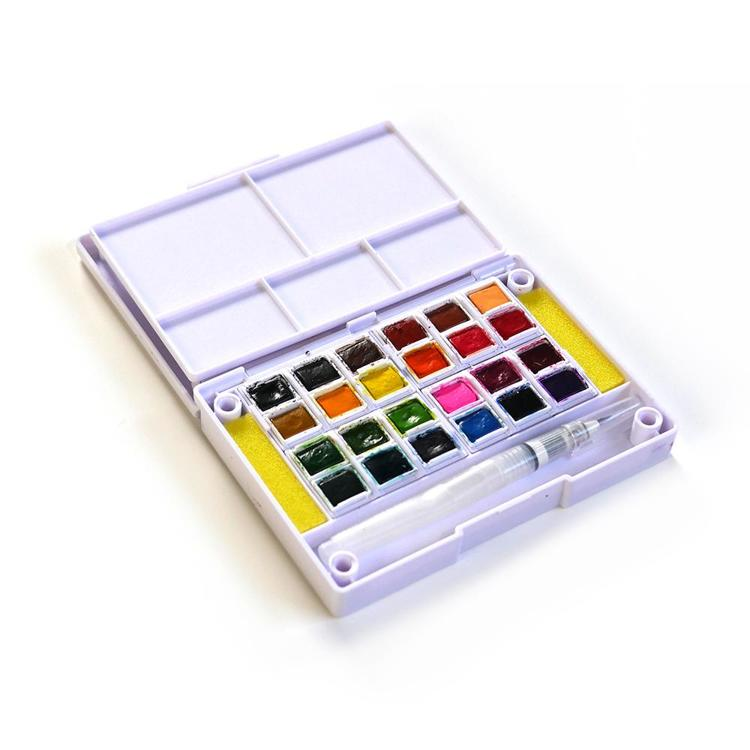 Elizabeth Craft Design - Art Journal Special - Water color pan set, 24 colors