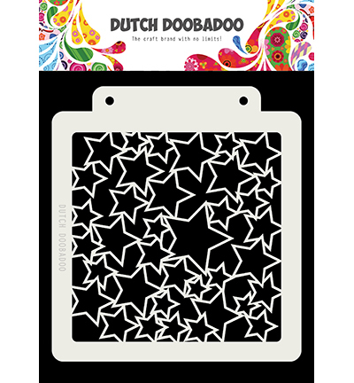 Dutch Doobadoo - Dutch Mask Art - Sterren