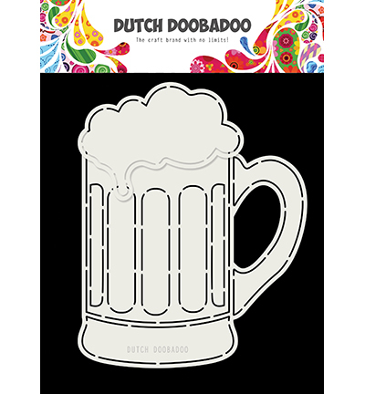 Dutch Doobadoo - Dutch Card Art - Bierglas
