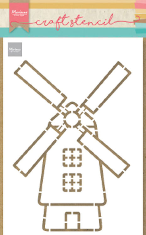 Marianne Design - Craft Stencil - Windmill