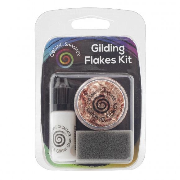 Cosmic Shimmer - Gilding Flakes KIT - Copper Kettle