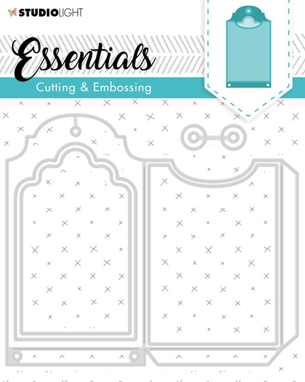 Studio Light - Cutting Stencil Essentials - Ticket STENCILSL274