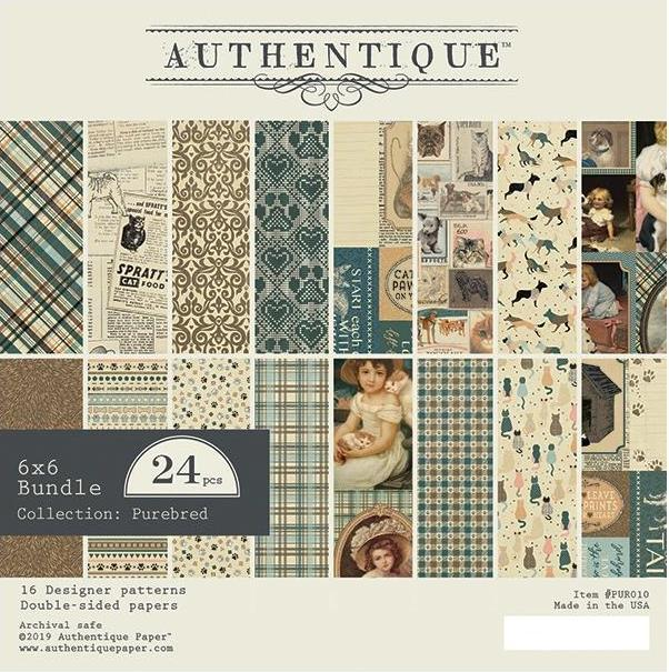 "Authentique - Paperpad Purebred - 6"" x 6"""