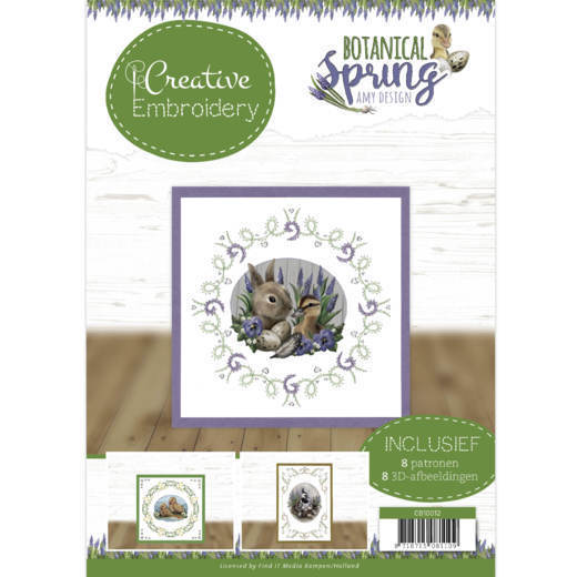 Creative Embroidery 12 - Amy Design - Botanical Spring