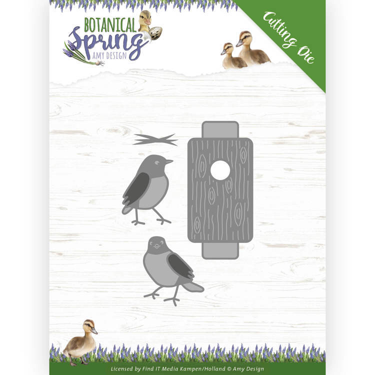 Stansmal - Amy Design - Botanical Spring - Busy Birds