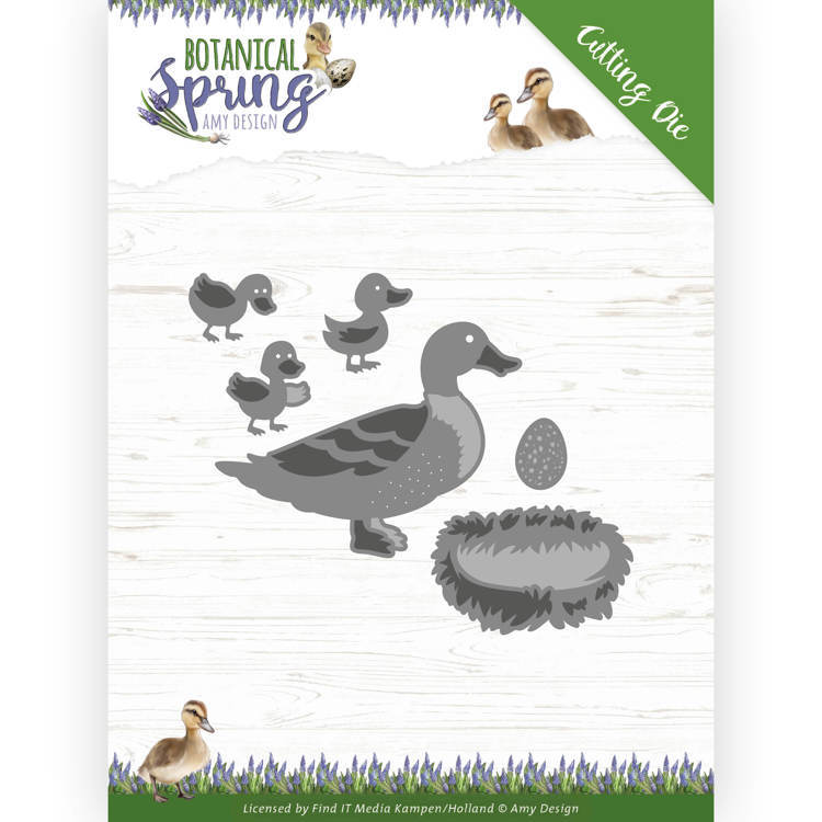 Stansmal - Amy Design - Botanical Spring - Some Ducks