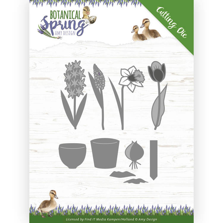 Stansmal - Amy Design - Botanical Spring - Bulbs and flowers