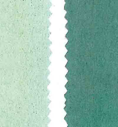 Stafil - Vegan leer - Dubbelzijdig fluweel - Light Green / Dark Green