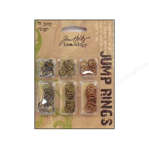 Tim Holtz - Idea-Ology - Jump rings (75/Pkg)
