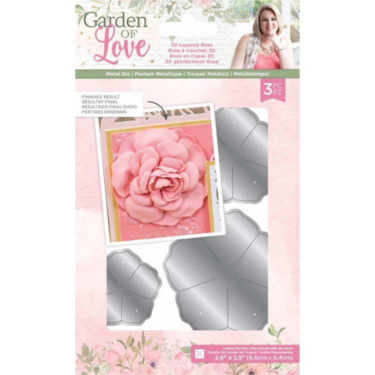 Crafter's Companion - Garden of Love - Stansmal 3D Layered Rose
