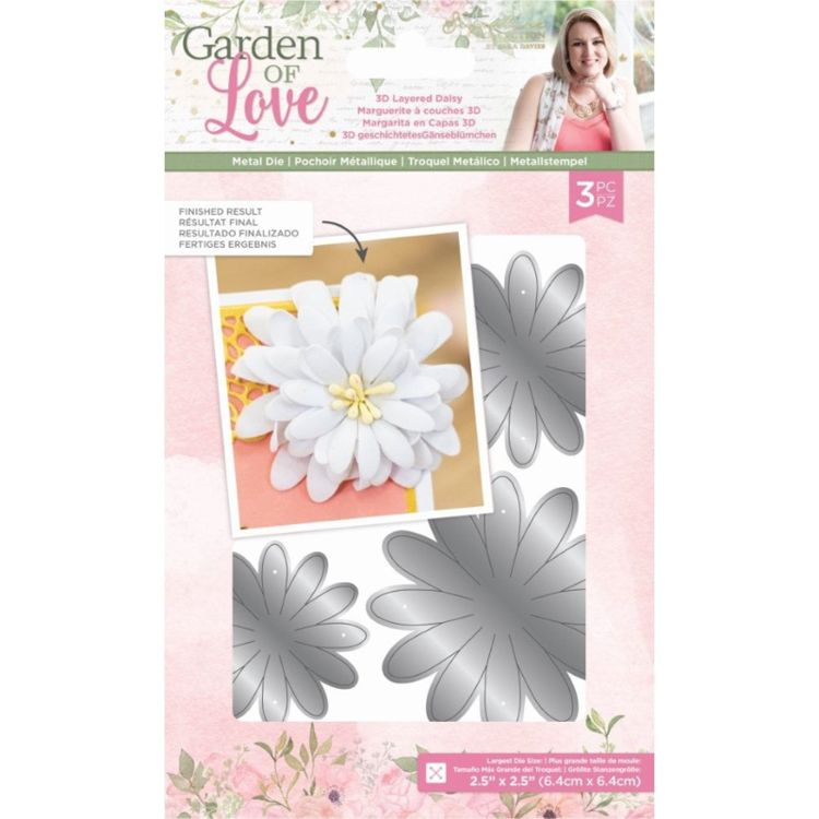 Crafter's Companion - Garden of Love - Stansmal 3D Layered Daisy