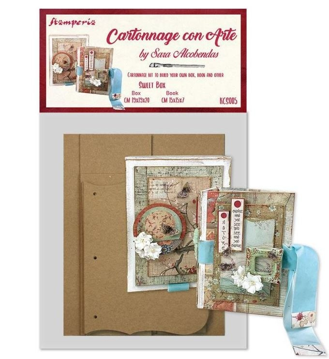 Stamperia - Cartonnage DIY sets - Sweet Box