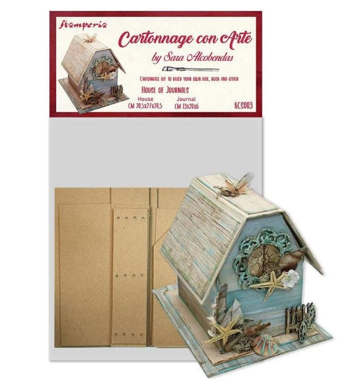 Stamperia - Cartonnage DIY sets - House of Journals Kit