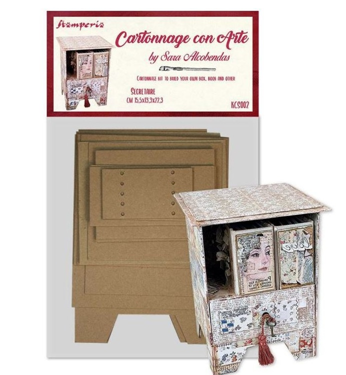 Stamperia - Cartonnage DIY sets - Secretaire Kit