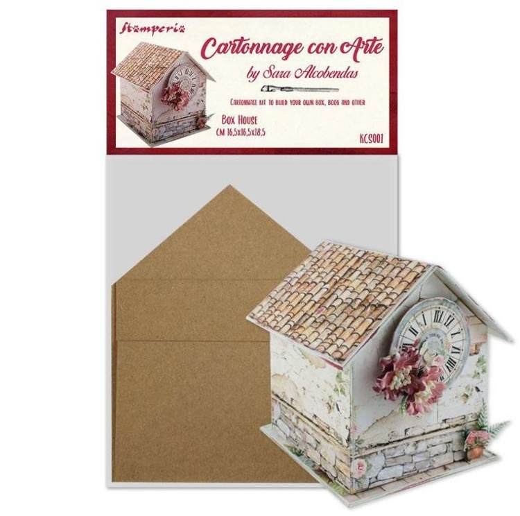 Stamperia - Cartonnage DIY sets - Box House kit