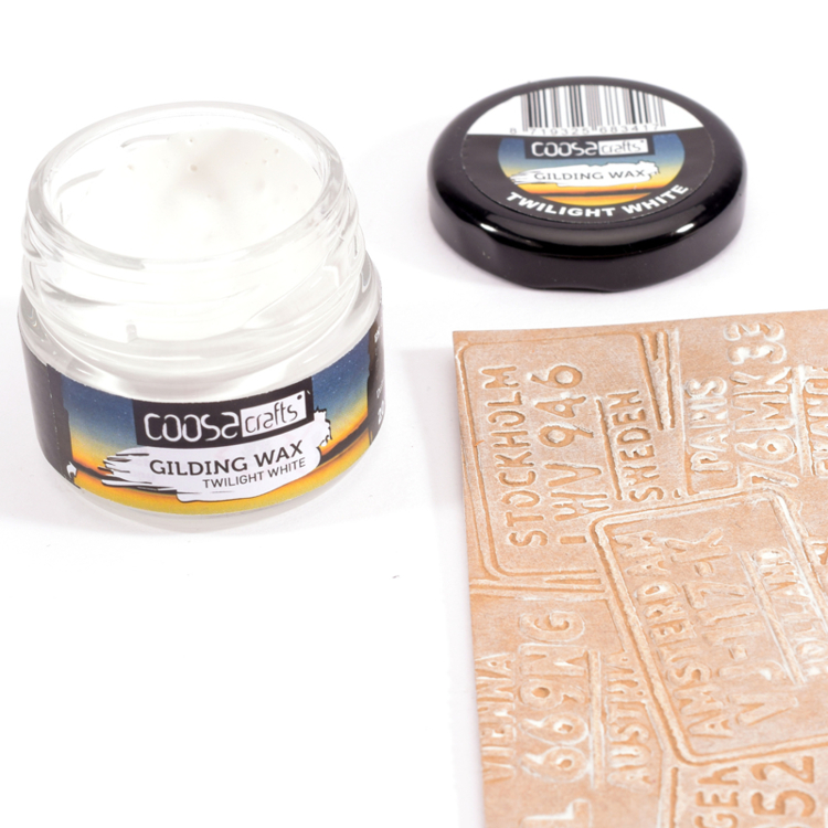 COOSA Crafts - Gilding Wax - Twilight White