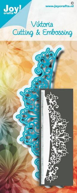 Noor! Design - Blauwe mal - Border Viktoria
