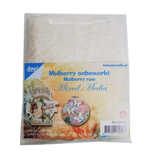 Joy! Crafts - Mulberry boombastvezels voor Mixed Media