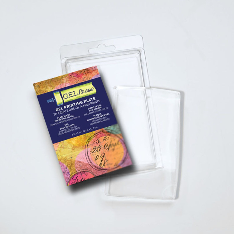 Gel Press Printing Plate - 7,62 x 12,7 cm