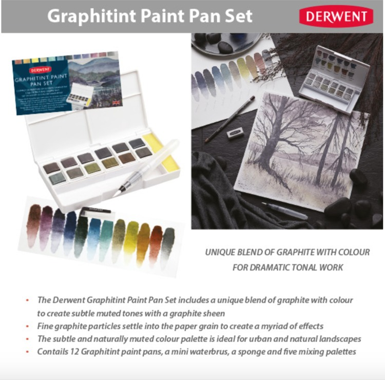 Derwent Paint Pan Set - Graphitint
