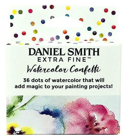 Daniel Smith - Watercolor Dots Card Sets - Confetti