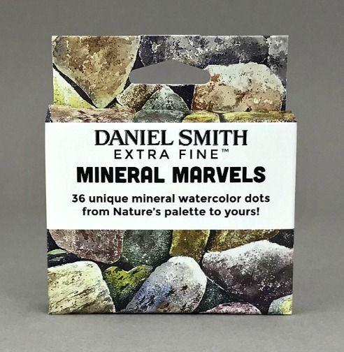 Daniel Smith - Watercolor Dots Card Sets - Mineral Marvels
