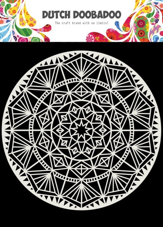 Dutch Doobadoo - Dutch Mask Art - Mandala 2