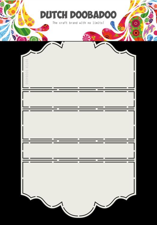 Dutch Doobadoo - Dutch Fold Card Art - Swing