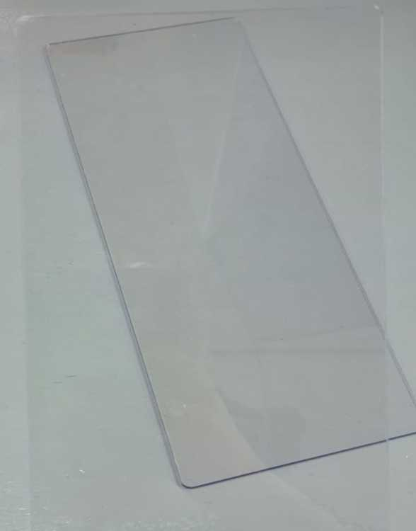 Acrylic Block - Extra long (15 x 36 cm) - Voor o.a. Grunge border stempels