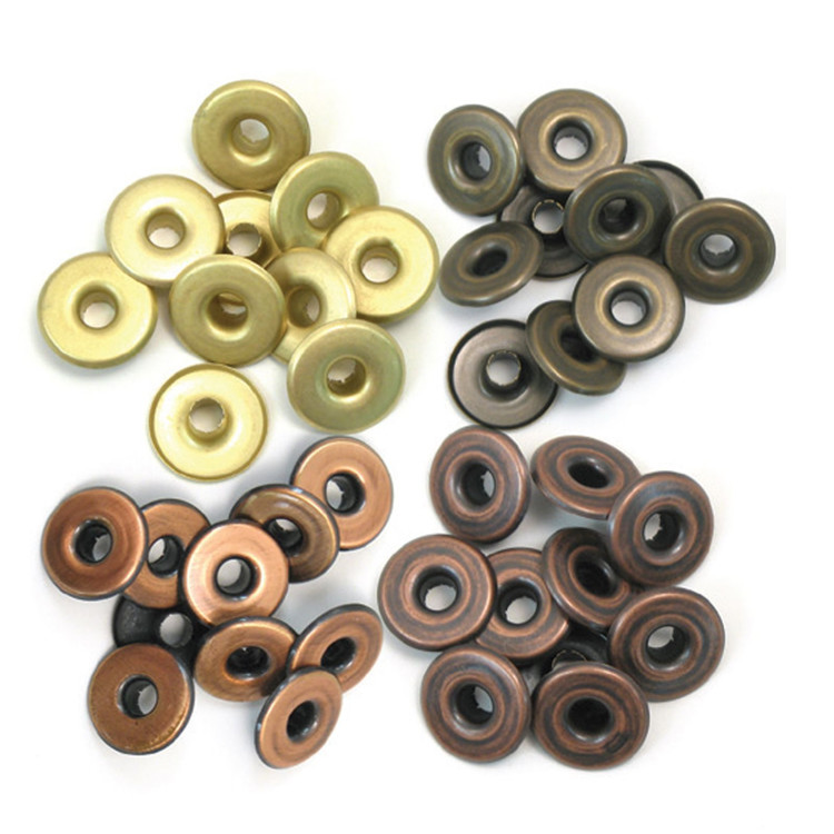We R Memory Keepers - Wide Eyelets - Warm Copper Metal
