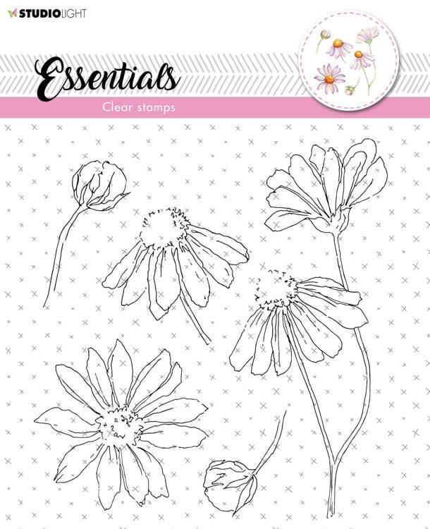 Studio Light - Clearstamp Essentials - Flowers STAMPSL463