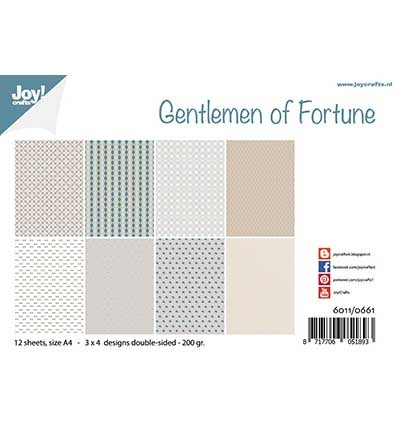 Joy! Crafts - Paperpad A4 - Gentlemen of Fortune