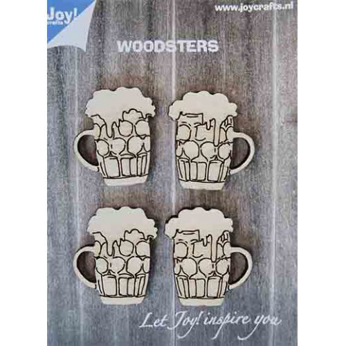 Joy! Crafts - Woodsters Bierpullen