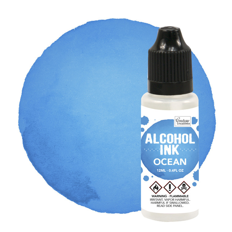 Couture Creations - Alcohol Inkt - Sail Boat Blue / Ocean (12mL | 0.4fl oz)