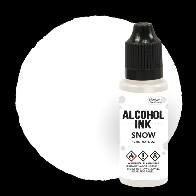 Couture Creations - Alcohol Inkt - Snow Cap / Snow (12mL | 0.4fl oz)